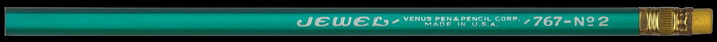Jewel 767 Blue vintage pencil