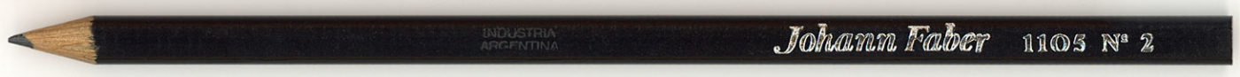 Johann Faber 1105 No.2