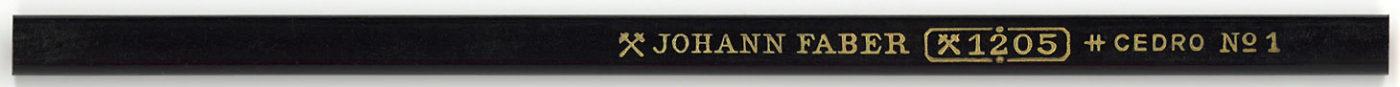 Johann Faber 1205 No.1