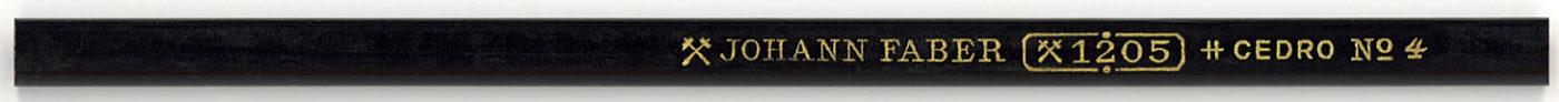 Johann Faber 1205 No.4