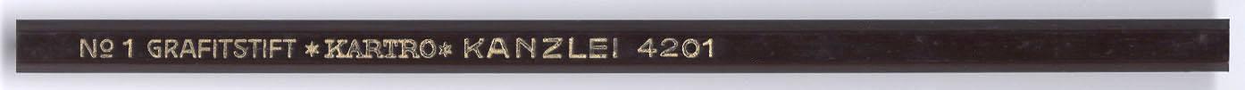Kanzlei Grafitstift 4201 No.1
