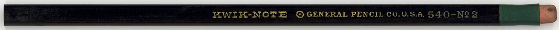 Kwik-Note 540 No.2