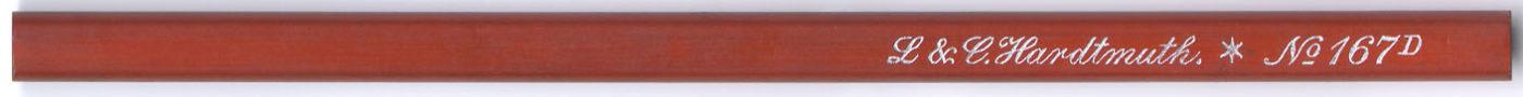 L&C Hardtmuth No. 167 D