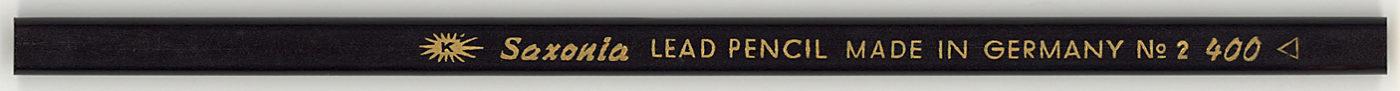 Saxonia Lead Pencil 400 No. 2