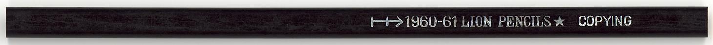 Lion Pencils Copying 1960-61