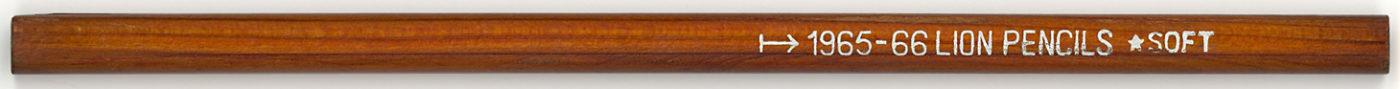 Lions Pencils Soft 1965-66