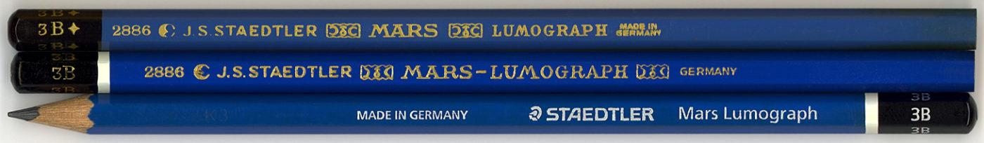 Mars Lumograph 2886 3B