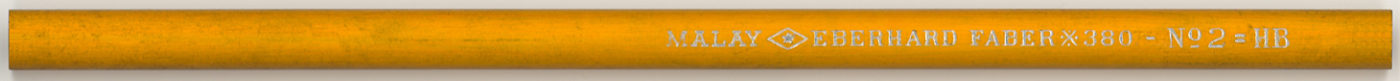Malay 380 No 2 = HB
