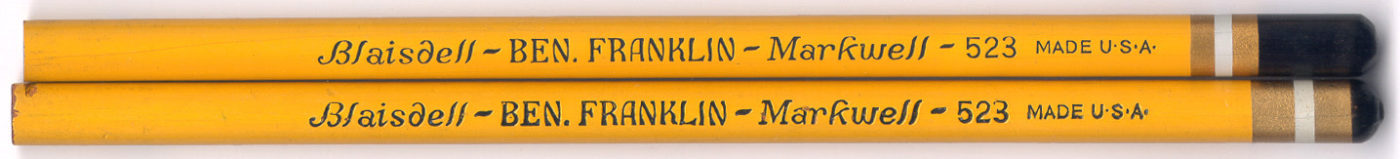 Ben Franklin Markwell 523