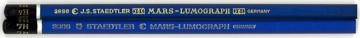Mars - Lumograph 2886 7H