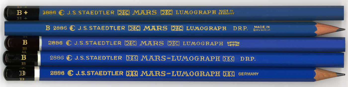 Mars - Lumograph 2886 B
