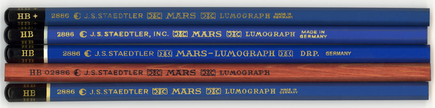 Mars Lumograph 2886 B