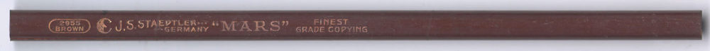 """""""Mars"""" 2955 Copying Brown"""