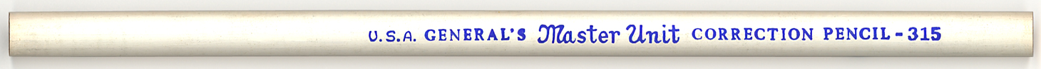 Master Unit Correction Pencil