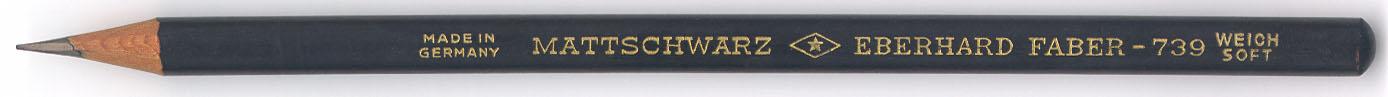 Mattschwarz 739 Weich Soft