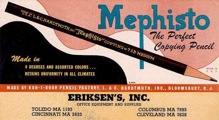Mephisto Copying Pencils