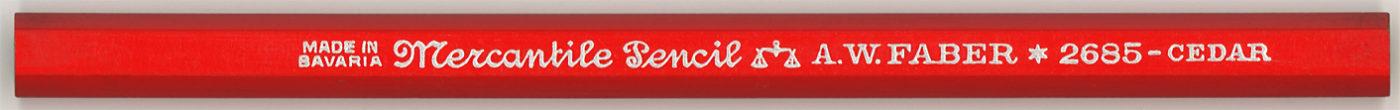 Mercantile Pencil  2685