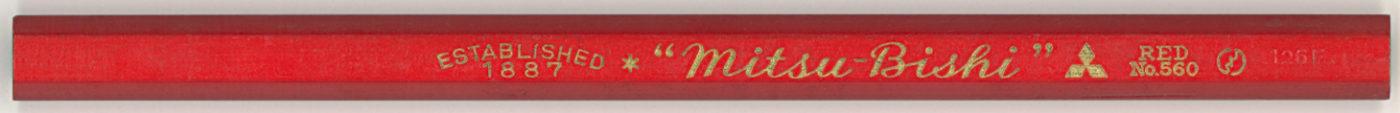 """""""Mitsu-Bishi"""" No.560 Red"""