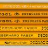 Mongol 482 No. 2 3/8 = F