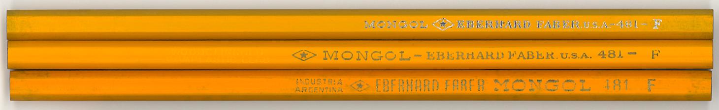 Mongol 481 F