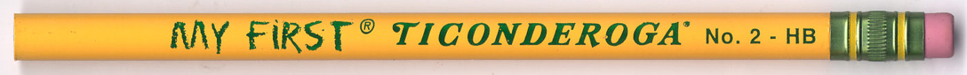 My First Ticonderoga