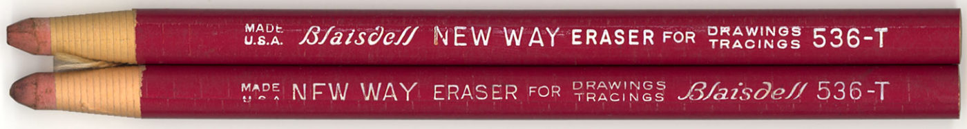 New Way Eraser 536-T