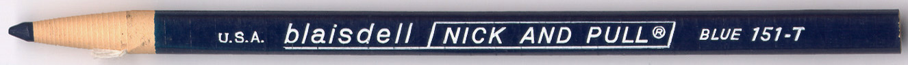 Nick And Pull 151-T Blue