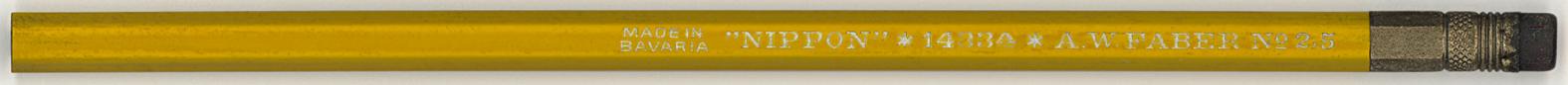 """""""Nippon"""" 1433A No. 2.5"""