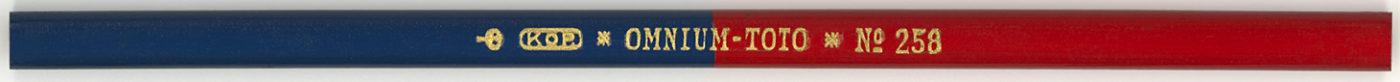 Omnium-Toto Kop. No.258