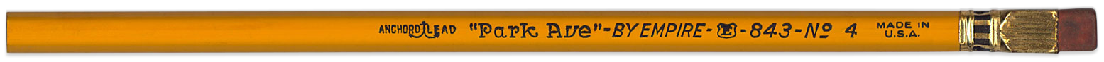 Park Ave pencil by Empire
