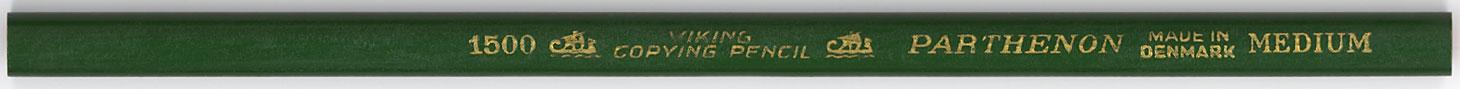 Parthenon Copying Pencil 1500 Medium