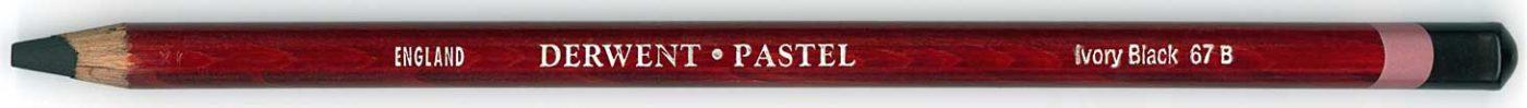 Derwent Pastel Ivory Black 67 B