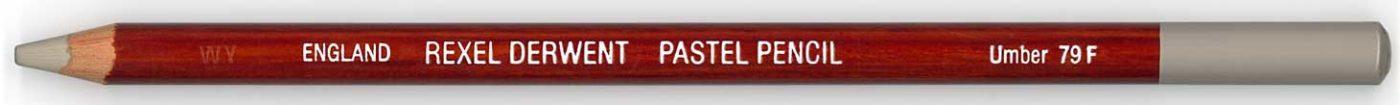 Derwent Pastel Pencil Umber 79 F