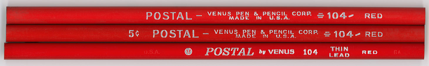 Postal 104 Red