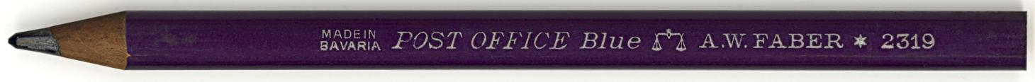 Post Office Blue 2319