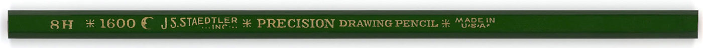 Precision Drawing Pencil 1600 8H