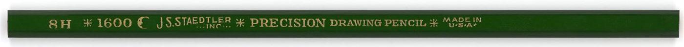 Precision Drawing Pencil 1600 8H