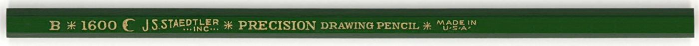 Precision Drawing Pencil 1600 B