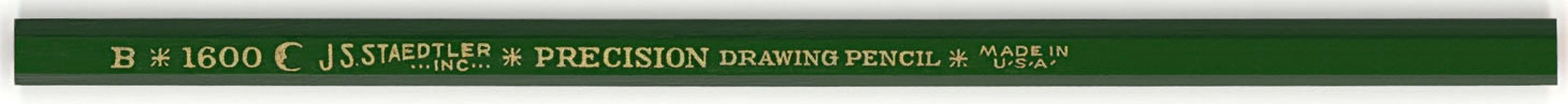 Precision Drawing Pencil 1600 B