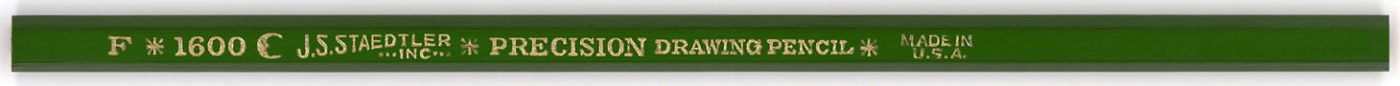Precision Drawing Pencil 1600 F