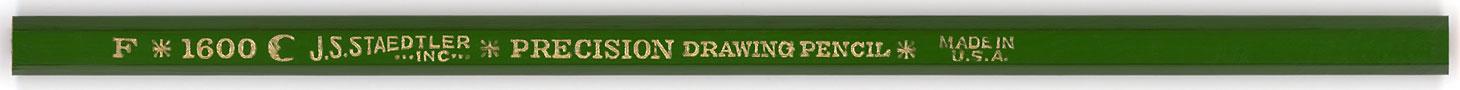 Precision Drawing Pencil 1600 F