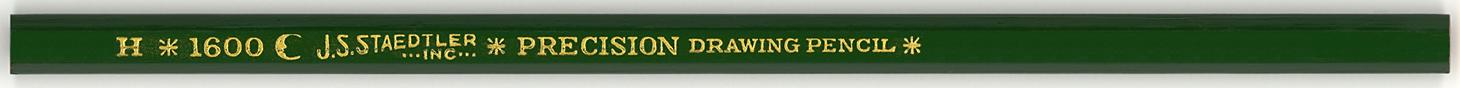 Precision Drawing Pencil 1600 H