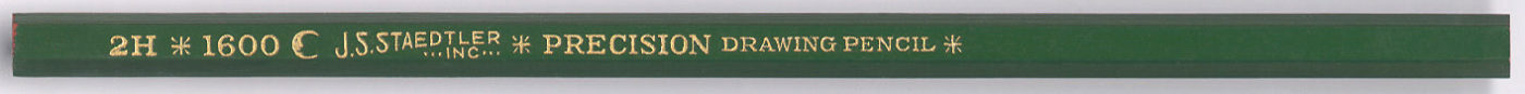 Precision Drawing Pencil 1600 2H