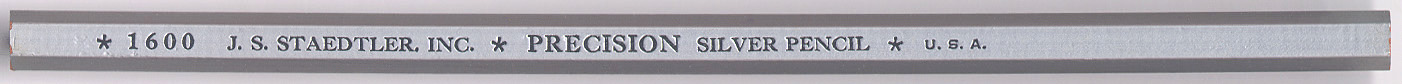 Precision Silver Pencil 1600