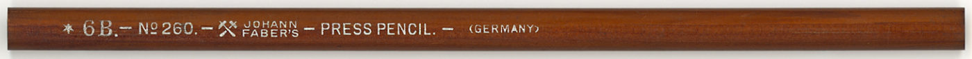 Press Pencil No.260 6B