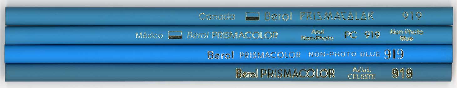 Prismacolor 919 Non-Photo Blue