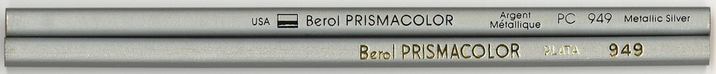 Prismacolor 949 Metallic Silver