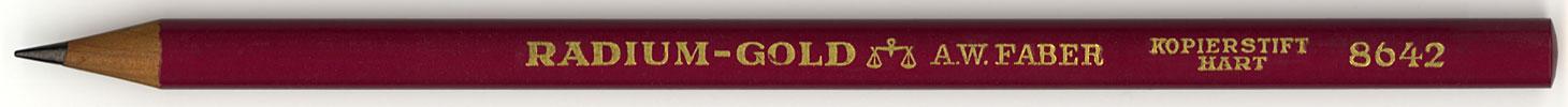 Radium-Gold Kopierstift 8642