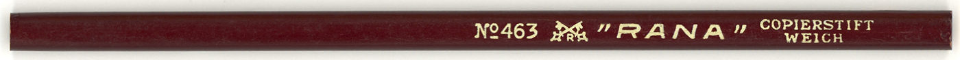 """Rana"" Copierstift No. 463 Weich"