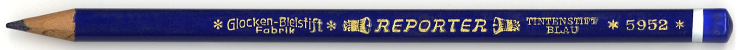 Reporter Tintenstift Blau 5952